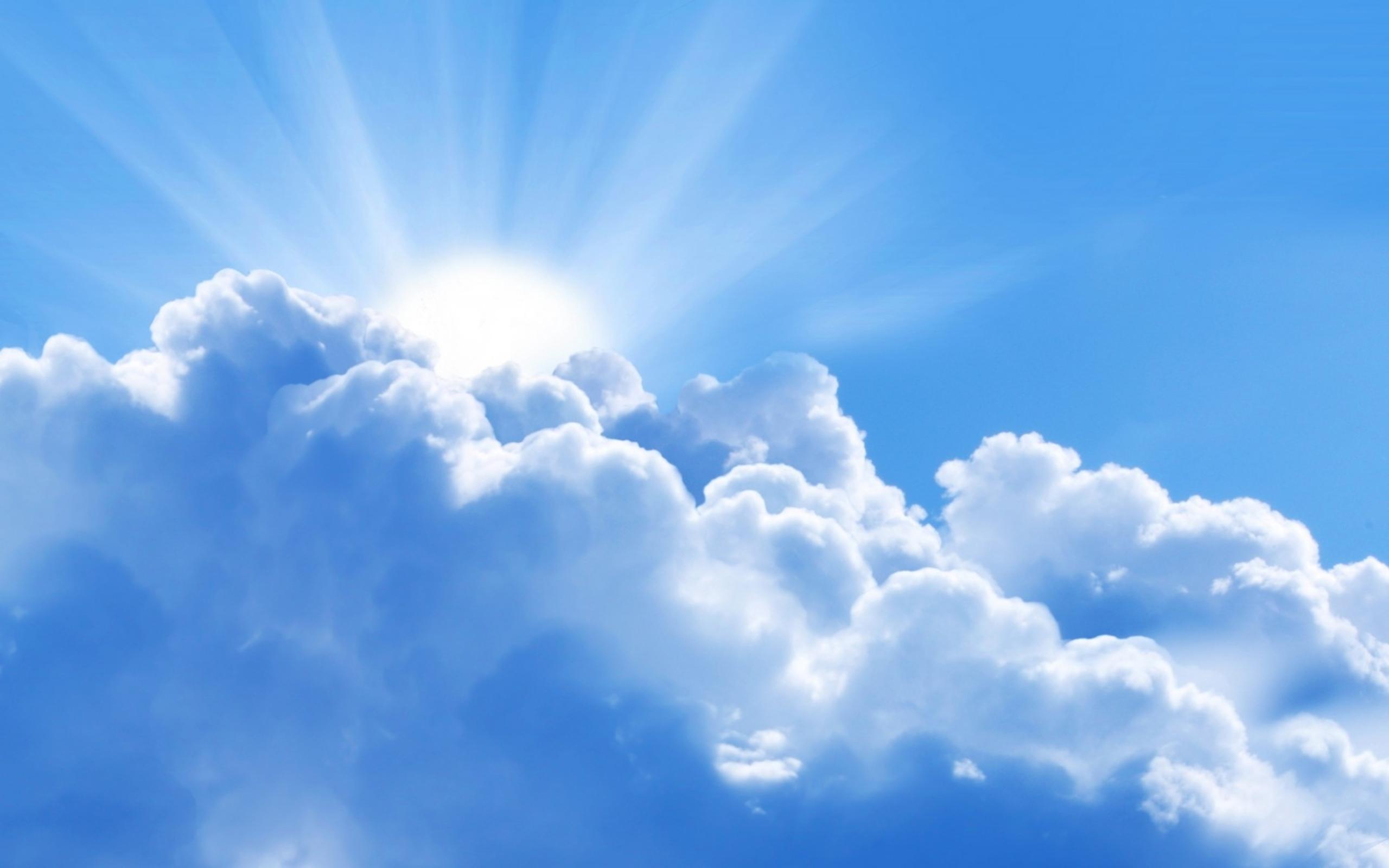 рисунок небо и облака карандашом